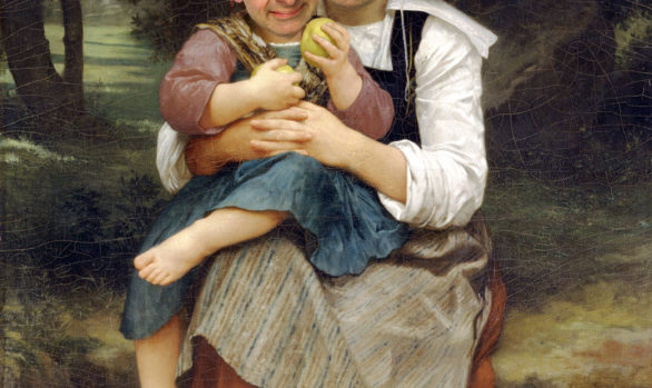 Bouguereau Breton Brother an Sister