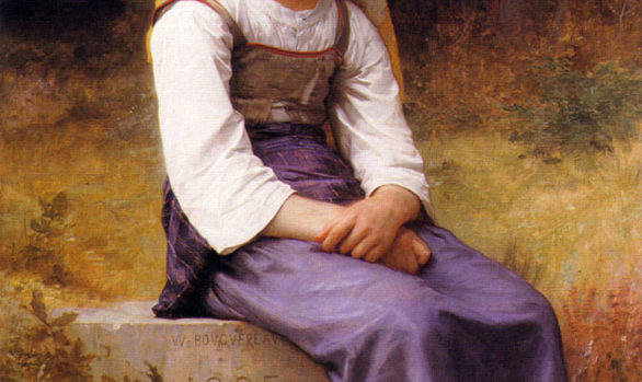 Bouguereau Meditation
