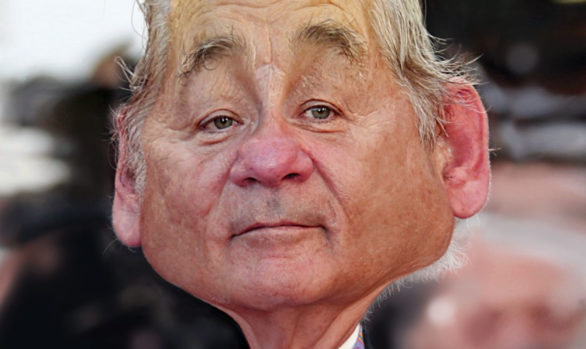 Bill Murray All Dressed Up