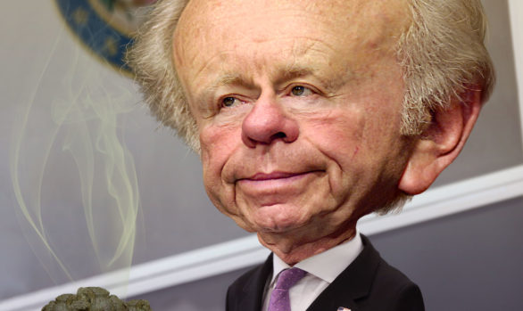 Joe Lieberman Serving it up