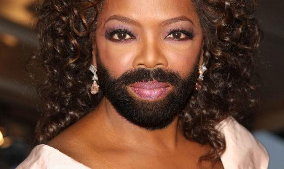 Oprah Winfrey Bearded