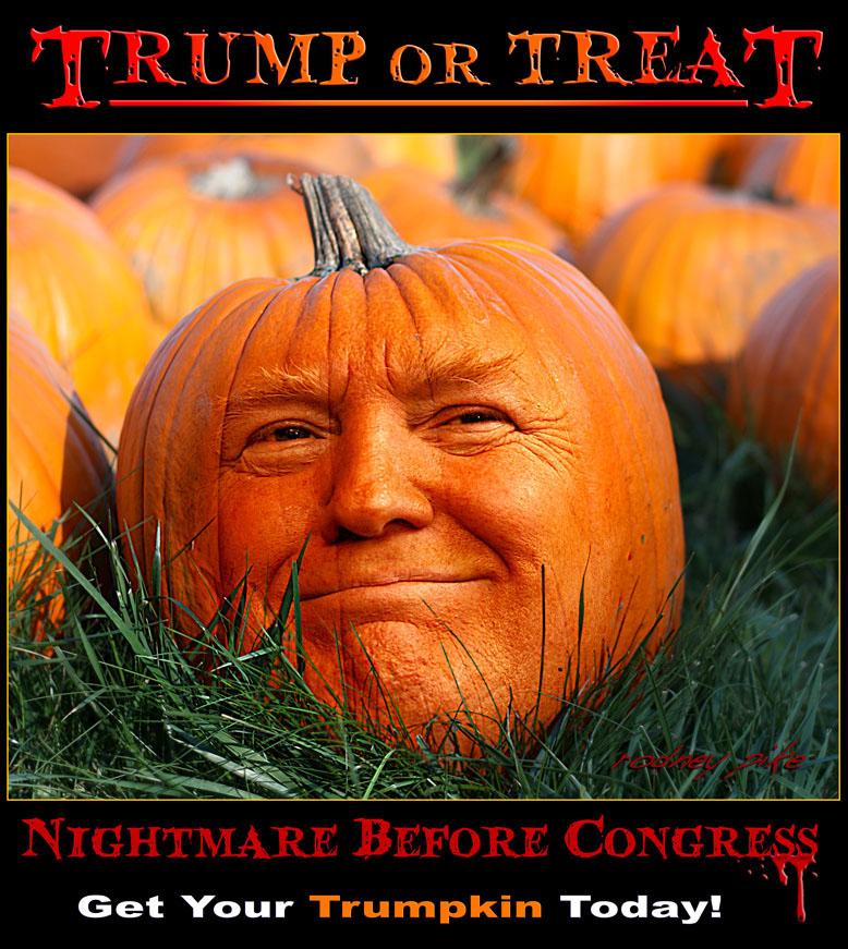 Trump or Treat - Trumpkin