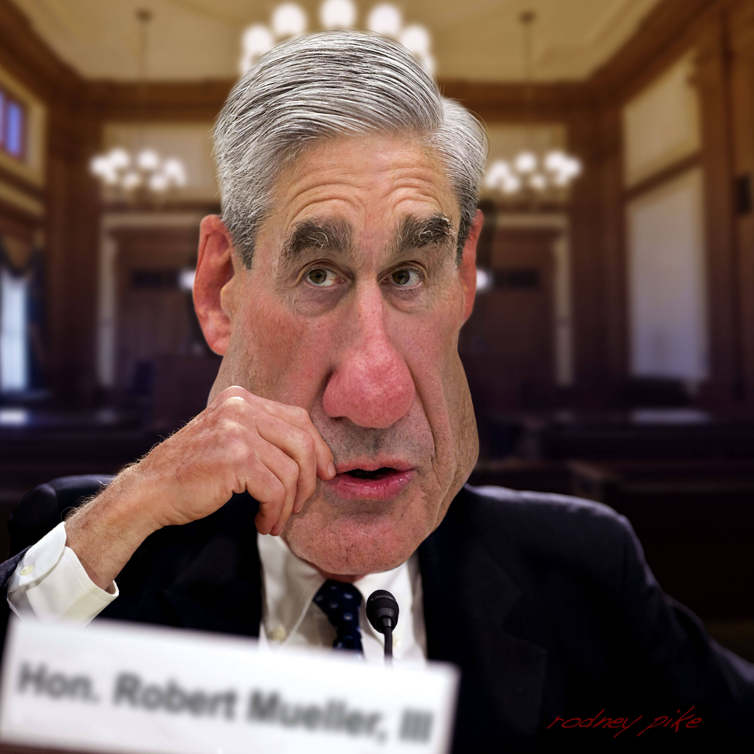 Image result for caricature mueller